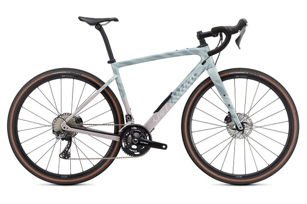 Specialized Diverge Comp Carbon colourful Gloss Ice Blue/Clay/Cast Umber/Chrome/Wild Ferns