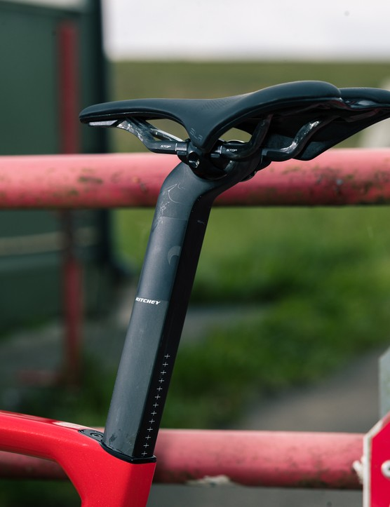 Saddle and seatpost
