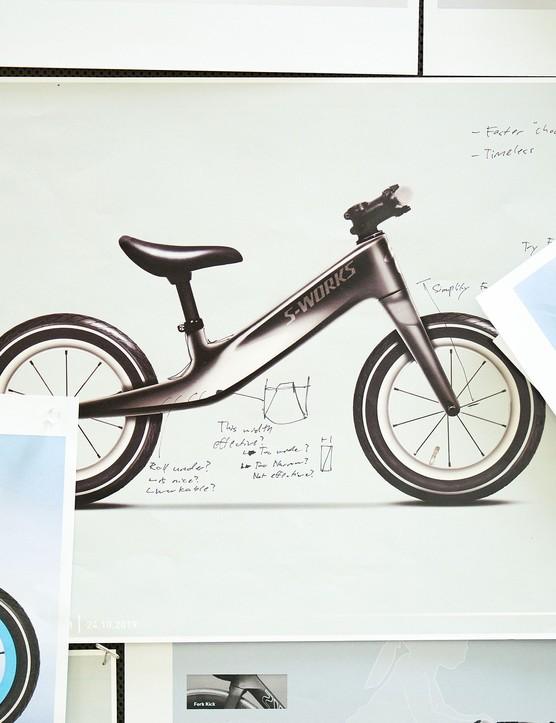 Concept sketch of Hotwalk Carbon
