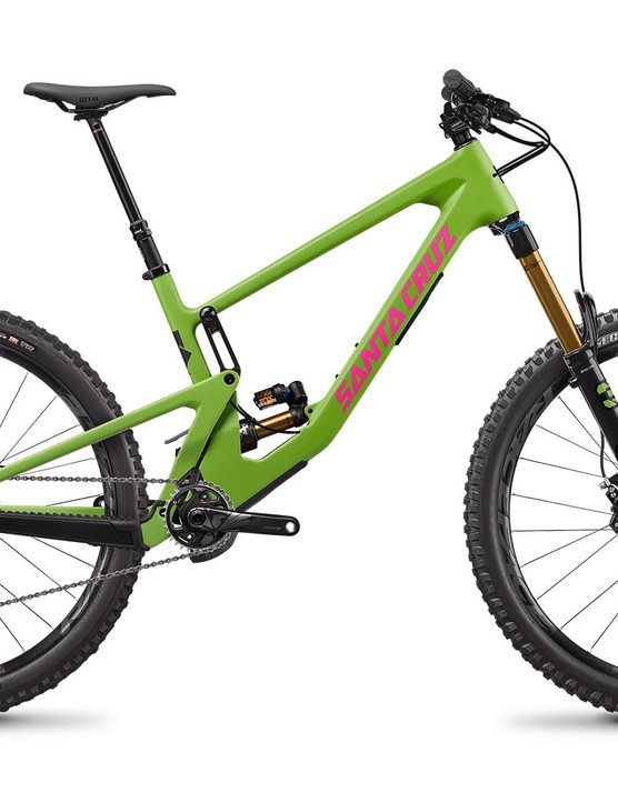 Santa Cruz Nomad CC X01 full suspension mountain bike with Air rear suspension
