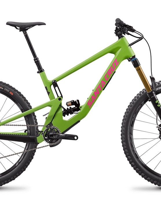 Santa Cruz Nomad CC X01 full suspension mountain bike with Coil rear suspension