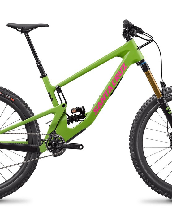 Santa Cruz Nomad CC X01 RSV full suspension mountain bike with Coil rear suspension