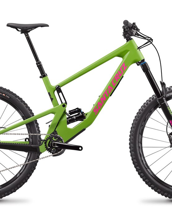 Santa Cruz Nomad C X T full suspension mountain bike