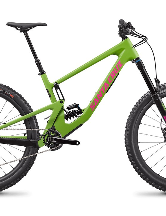 Santa Cruz Nomad C X T RSV full suspension mountain bike with Coil rear suspension