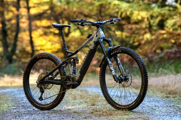 Marin Alpine Trail E2 electric mountain bike