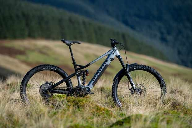 Marin's first full-sus ebike goes big with EP8 motor and hardcore geometry