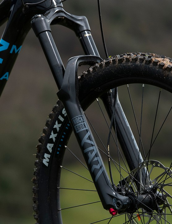 The forks used in the Marin Alpine Trail range of full suspension mountain bikes have travel of 160mm