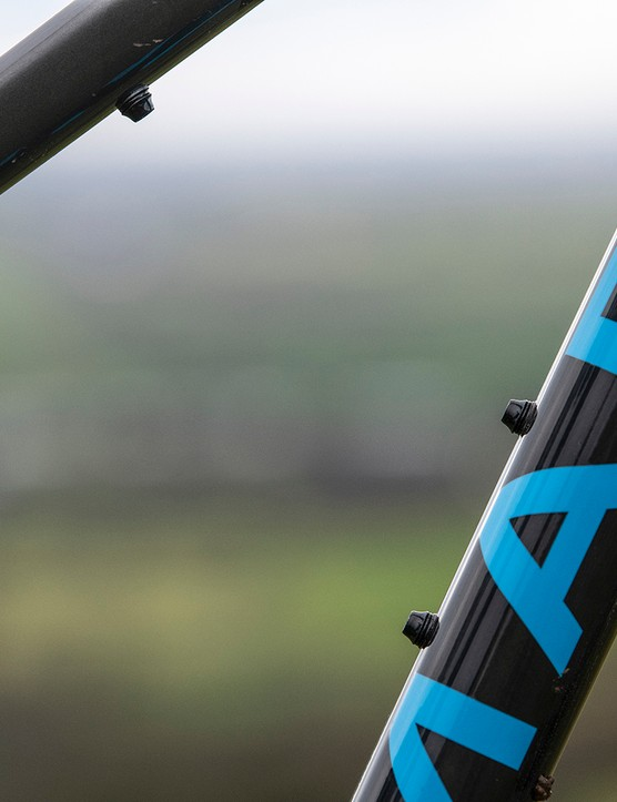The Marin Alpine Trail range have twin bottle cage mounts
