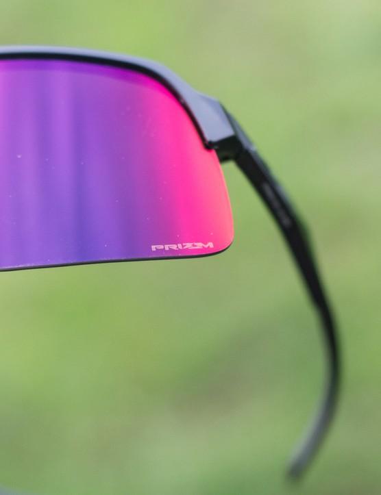 Prizm logo on lens