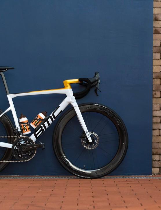 Greg van Avermaet's BMC Teammachine