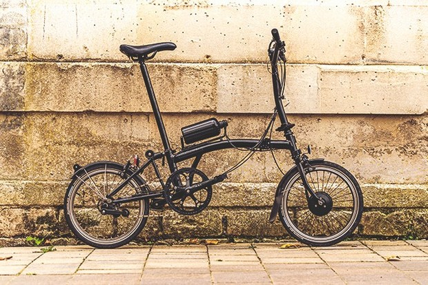 Brompton Cytronex electric folding bike