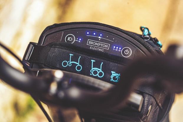 Brompton electric folding bike battery