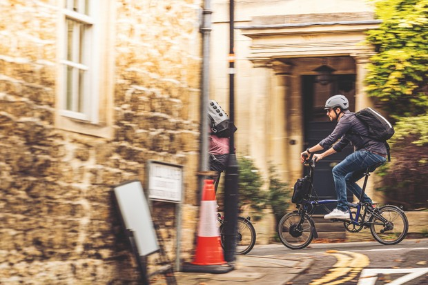 Electric folding bikes have a limited gear range