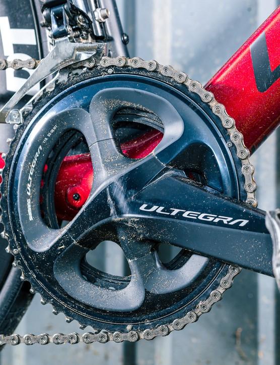 Ultegra crank and Di2 front derailleur