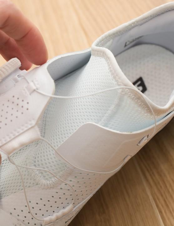 Sock construction of shoe