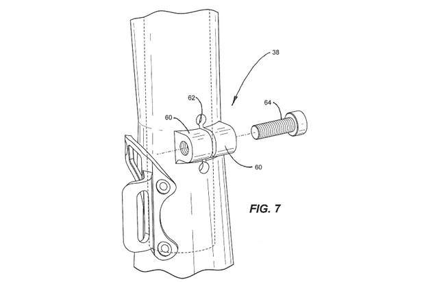 Seat clamp diagram