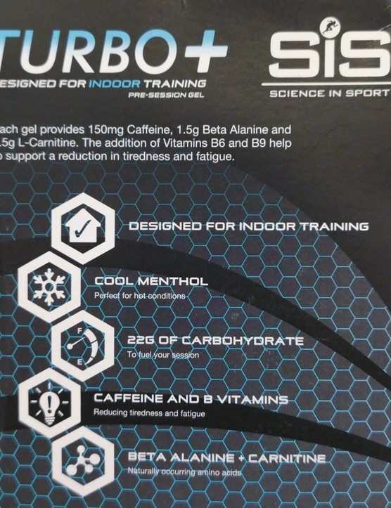 Science in Sport indoor training gels