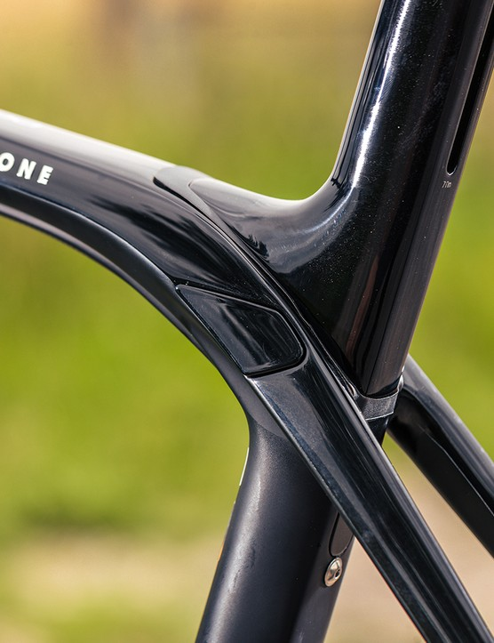 The Trek Domane+ LT 7 has IsoSpeed technology which helps dampen vibrations