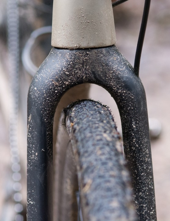 Front tyre clearance