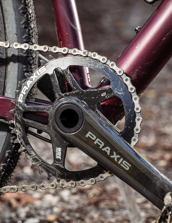 Praxis Works Zayante Carbon-S chainset
