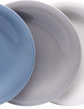 Villeroy & Boch Vivo Color Loop Dinner Plate Set