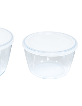 Pyrex Cook & Freeze Round Containers Set of 3