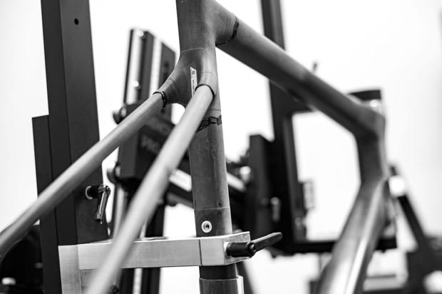 ENVE Custom bicycle construction shot