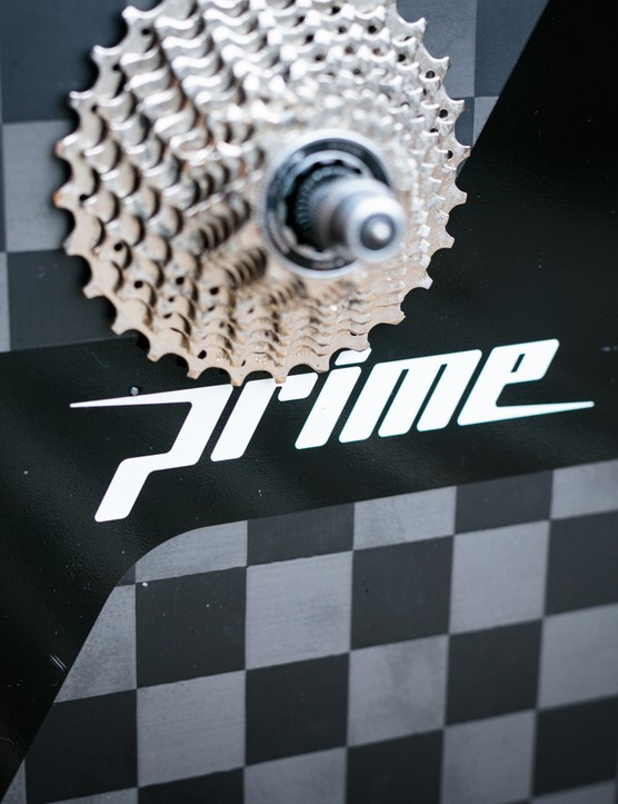 Prime 343 carbon rear disc wheel