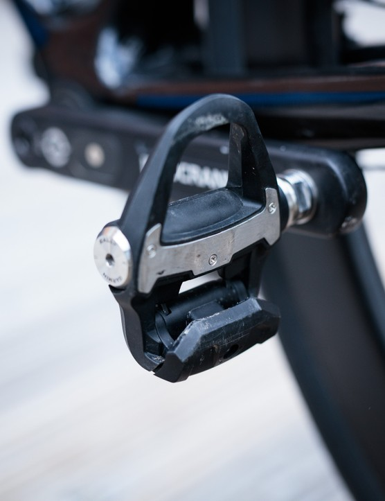 Garmin Rally RS200 power meter pedal