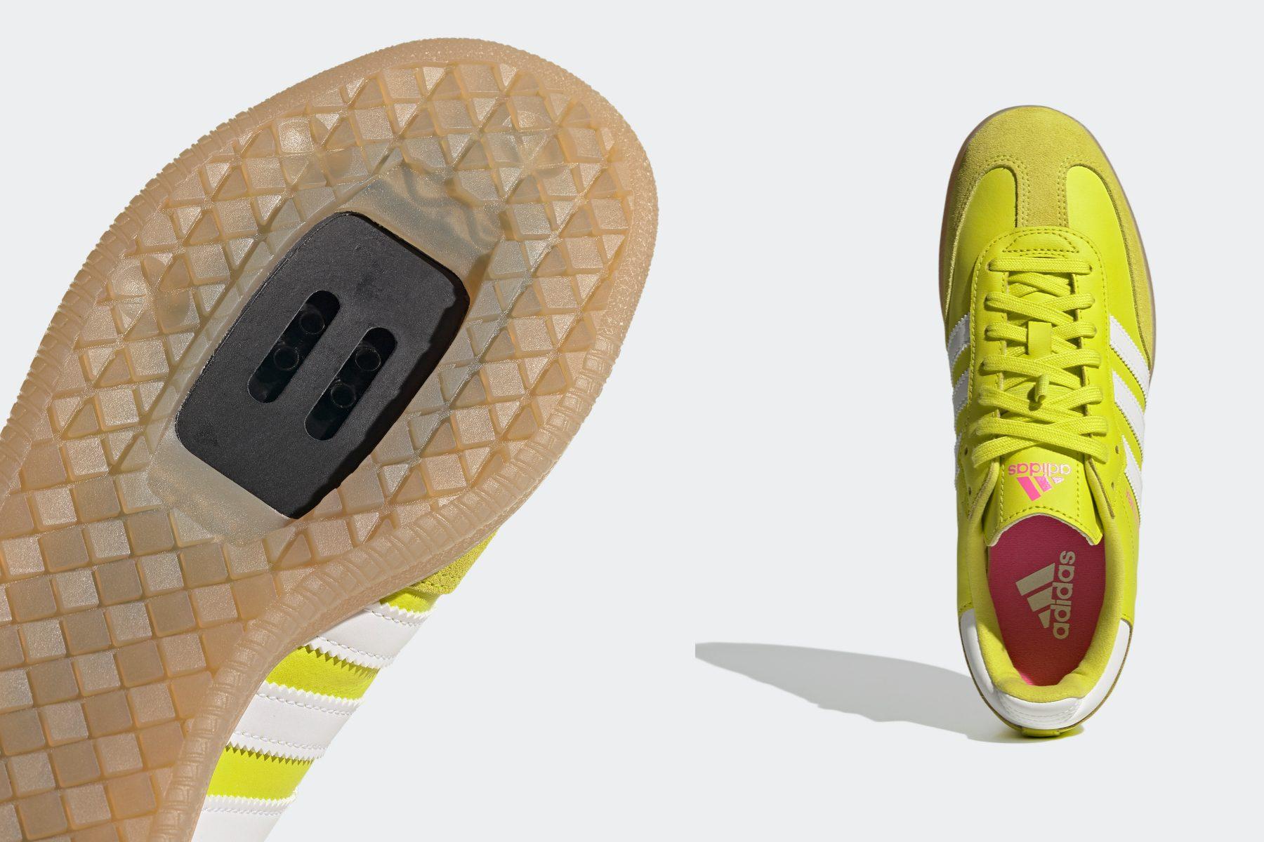 New 2021 Adidas Velosamba clip-in urban shoe released - BikeRadar
