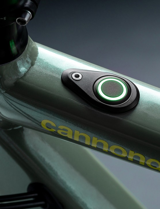 The eBikemotion controller, called the iWOC, is located in the toptube