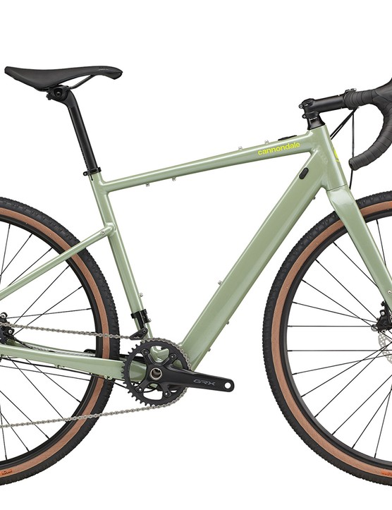 Pack shot of the Cannondale Topstone Neo SL 1 gravel eBike