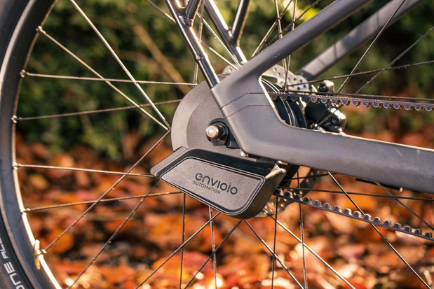 The Precede comes complete with a rear rack that's rated to a weighty 25kg load capacity