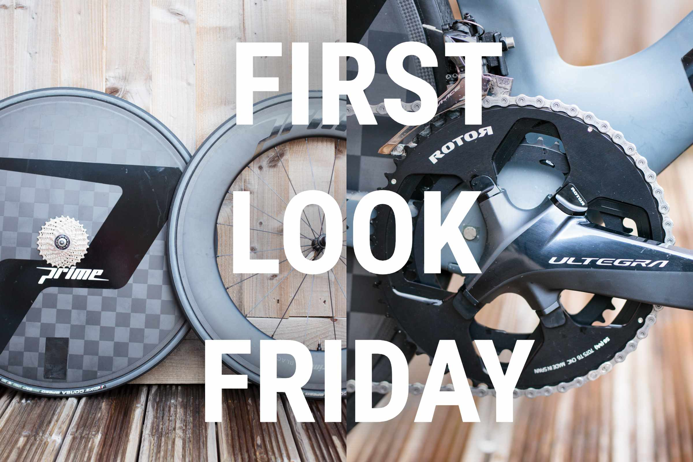 FLF Prime time trial wheels and Rotor chainrings