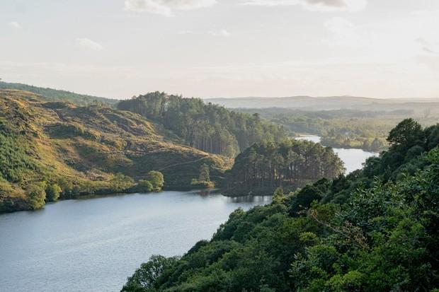 Loch Trool in Glentrool, Scotland