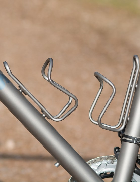 Moots Ti bottle cages
