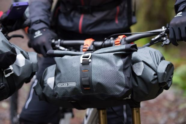Ortlieb handlebar bags for bikepacking