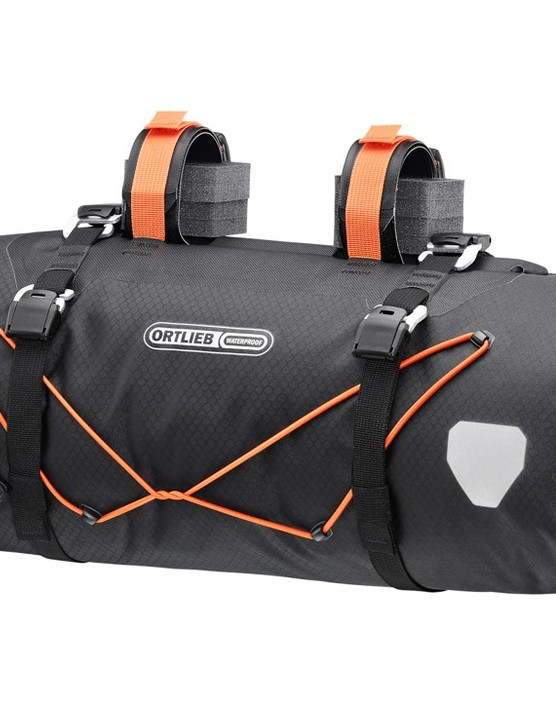 Ortlieb handlebar bag for bikepacking