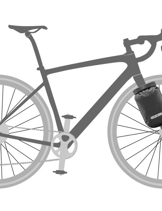Ortlieb fork bags for bikepacking