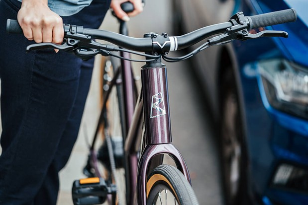 Ribble electric hybrid bike for commuting