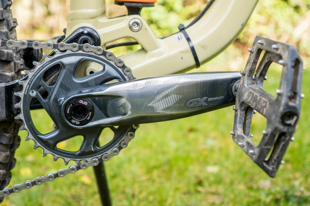 SRAM GX Eagle AXS mountain bike drivetrain