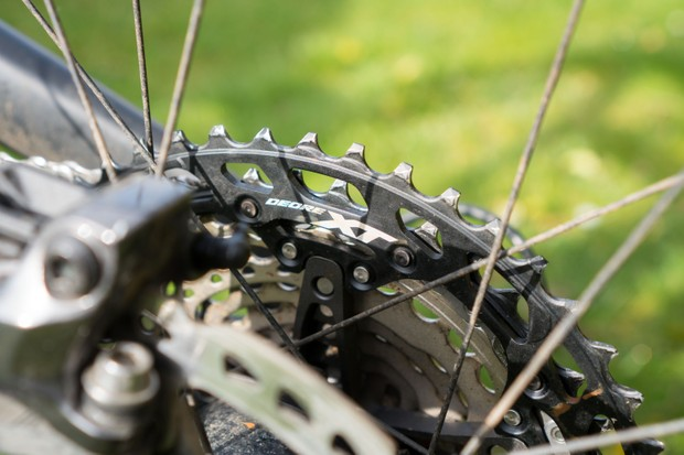 Shimano Deore XT M8100 12-speed mountain bike drivetrain