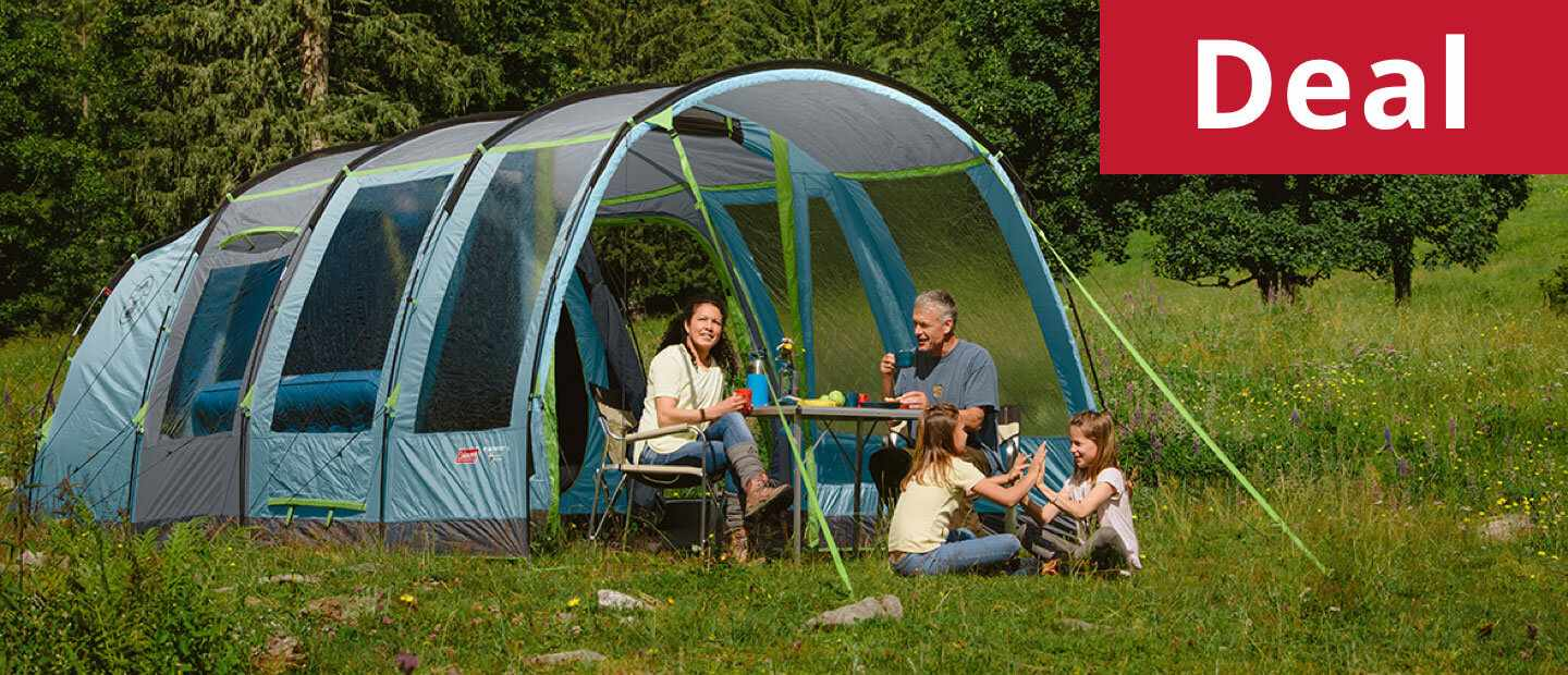 Coleman MeadwoodTM 4L Family Tent