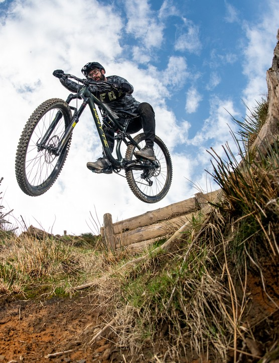 Bike of the Year 2021 testing at Bike Park Wales