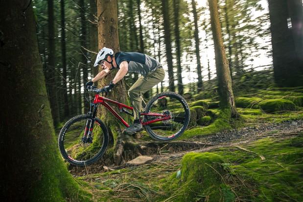 Bike of the Year 2021 testing at BikePark Wales
