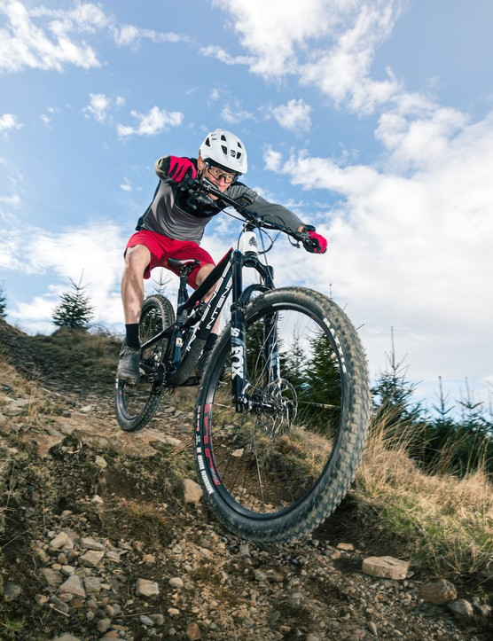 Bike of the Year 2021 testing at Bike Park Wales