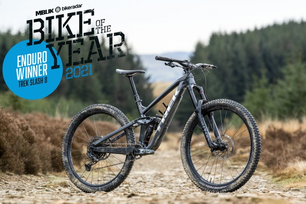 BikeRadar Enduro Bike of the Year 2021 – Trek Slash 8