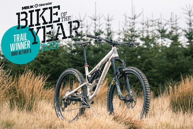 BikeRadar Trail Bike of the Year 2021 – Bird Aether 9