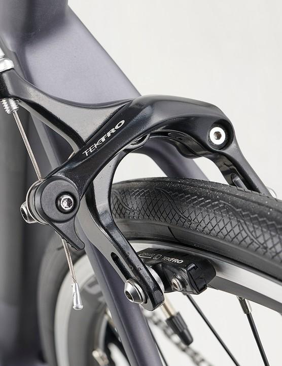 Tektro R315 long-arm calliper brakes on the Boardman SLR 8.9 road bike