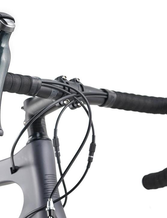 Boardman alloy stem and bar on the Boardman SLR 8.9 road bike